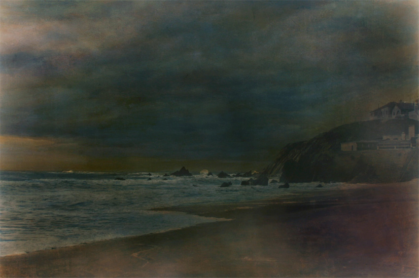 Nachtstück Sao Pedro I, 2015, 100 x 140 cm, s-w-Barytpapier koloriert, Edition 2