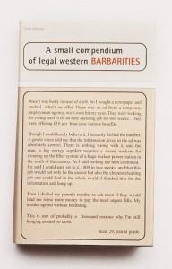 "Detail aus ""Bibliothek I"", 2000, Ilfrochrome, Edition 2"