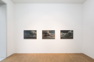 "Ausstellungsansicht ""Here comes the night"", Galerie Kuckei+Kuckei, Berlin, 2017"