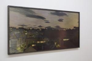 "Nachtstück Jardim botanico/Principe Real (Lissabon), 2015, 72 x 137 cm, Edition 2 (Abb. 2/2) (Ausstellung ""Here comes the night"")"