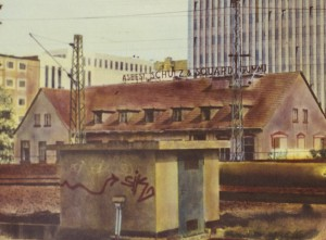 Galluswarte (Frankfurt), Detail, 1994, 61 x 94 cm