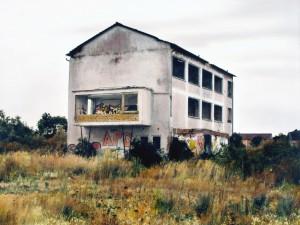 Ruine Gernsheim, 2010, 61 x 81cm, s-w-Barytpapier koloriert, Edition 2