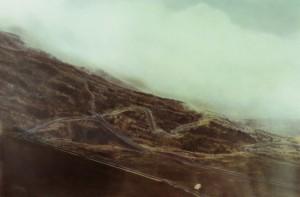 Landschaft am Etna, 1995, 90 x 140 cm, s-w-Barytpapier koloriert, Edition 2
