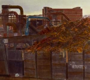 Profectus/Osthafen (Frankfurt), Detail, 1995