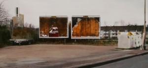 Leere Plakatwände (Köln-Gremberg), Detail, 2010
