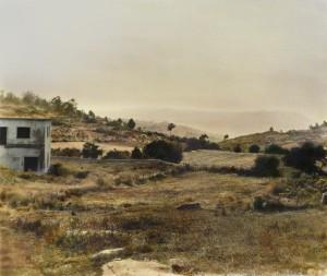 Trás–os-Montes (Portugal), 2000, 48 x 57 cm, s-w-Barytpapier koloriert, Edition 2