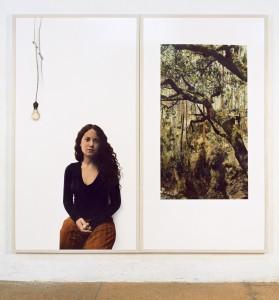 Flavia / Bairrada, 2006, 2 x 190 x 100 cm, s/w-Barytpapier koloriert, Edition 2