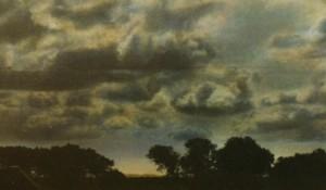 Nachtstück Galicien Nr.4 (Detail), 1999, 62,5 x 92 cm, s-w-Barytpapier koloriert, Edition 2