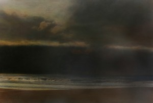 Nachtstück Sao Pedro II, 2015, 98 x 140 cm, s-w-Barytpapier koloriert, Edition 2