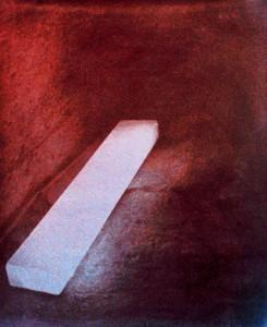 Lampe, Ägypten, ca. 1998, ca. 120 x 80 cm, s-w-Barytpapier getont
