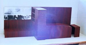 Modell für Studentenzimmer (II), Marseille 1990