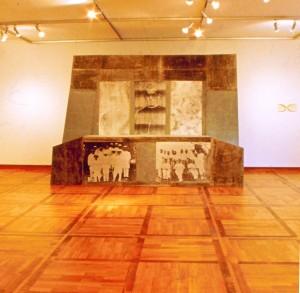 """Apostolatus, Ausstellung """"Austritte"""", Karmeliterkloster Frankfurt/Main, 1990"""