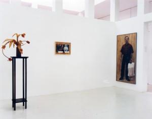 """""""Tulpen"""", 1998, """"Tier/Mensch"""", 1998, """"Paolo"""", 1998, Ausstellung """"Ad hoc"""", Deutsches Architekturmuseum Frankfurt, 1998"""