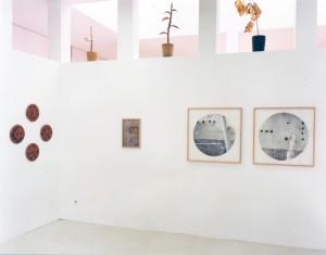"""Ausstellungsansicht """"Ad hoc"""", Deutsches Architekturmuseum Frankfurt, 1998"""