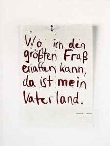 Groesster Fraß (Milton), 2007, 39,5 x 29,5 cm, s/w-Barytpapier koloriert, Edition 2