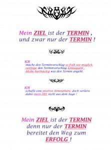 Mein Ziel ist der Termin, 2007, 42,5 x 31 cm, C-print, Edition 2